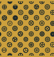 steampunk seamless pattern design victorian era vector image vector image