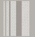 stripes seamless pattern striped background of vector image vector image