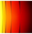 Abstract red orange and yellow paper shapes vector image