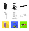 accessories and harm sign vector image