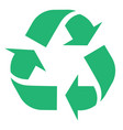 recycle and zero waste symbol with vector image