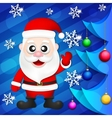 Santa Claus new year vector image