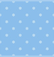 seamless snowflakes pattern background vector image vector image
