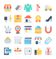 Shopping and E-Commerce Icons 5 vector image vector image