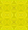yellow seamless abstract psychedelic swirl stripe vector image vector image