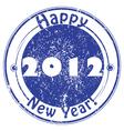 2012 happy new year vector image vector image