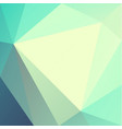 abstract geometric triangles background vector image