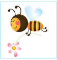 bumble bee vector image vector image
