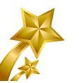 gold star winner vector image