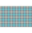 Gray blue check fabric texture background seamless vector image vector image