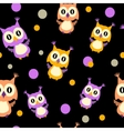 Owls seamless vector image vector image
