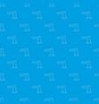 parking entrance pattern seamless blue vector image vector image