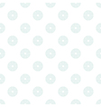 Polka Dot in Mint Circles of Multiple Lines on vector image vector image