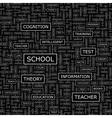 SCHOOL vector image vector image