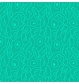 seamless pattern with neurons vector image