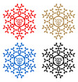 35 off discount sticker snowflake 35 off sale vector image vector image