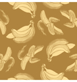 Bananas engraving drawing vector image vector image
