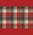 check fabric texture pixel seamless pattern vector image vector image