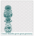 Great Greenery vector image vector image