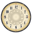 Horoscope Clock Face vector image vector image