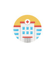 hospital icon sign symbol vector image vector image