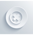 light circle icon Eps 10 vector image
