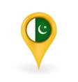 Location Pakistan vector image vector image