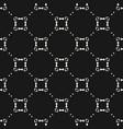 ornamental grid seamless pattern subtle vector image vector image