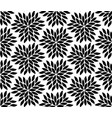 seamless luxury flowers pattern background vector image