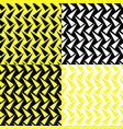 seamless pattern with four colored triangle vector image vector image