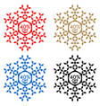 40 off discount sticker snowflake 40 off sale vector image vector image