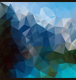 abstract polygonal square background sky blue vector image vector image