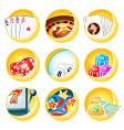 Casino icons vector | Price: 3 Credits (USD $3)
