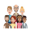 different looking people icon image vector image vector image