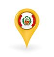 Location Peru vector image vector image