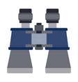 marine binoculars icon flat isolated vector image vector image