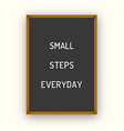 motivation letterboard quote vector image vector image