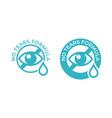 no tears formula icon kids soap free shampoo and vector image vector image
