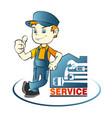 repairman vector image