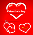 Valentines Day Stickers vector image