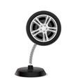 Wheel souvenir vector image vector image