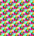 bright Triangle pattern vector image