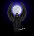 Angel of death vector image vector image