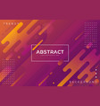 dynamic abstract liquid color gradation background vector image vector image