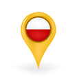 Location Poland vector image vector image