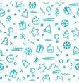 new year display seamless vector image