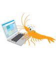 Office plankton vector image
