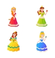 Princess character vector image