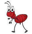 an ant vector image