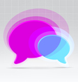 Balloons communication concept vector | Price: 1 Credit (USD $1)